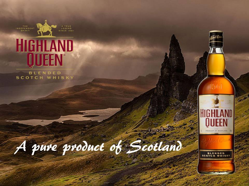 Highland Queen Advert
